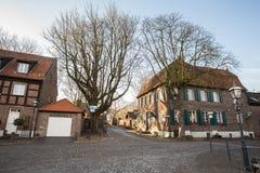 Linn histórico Krefeld Alemania de la ciudad fotos de archivo libres de regalías