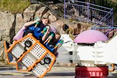 Linnanmaki Amusement Park, Kieppi Booster ride Stock Images