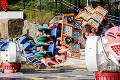 Linnanmaki Amusement Park, Kieppi Booster ride Royalty Free Stock Photo