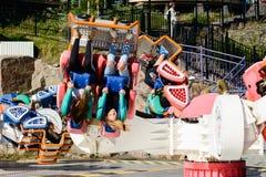 Linnanmaki Amusement Park, Kieppi Booster ride Stock Photography