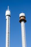 Linnanmaki Amusement Park, Panorama sightseeing and Kingi freefa Royalty Free Stock Photos