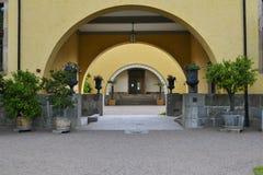 Linneanum, Bothanical庭院,乌普萨拉 库存照片