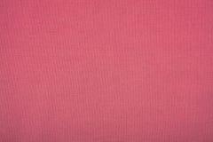 Linnen rode doek als grote textuur Stock Foto