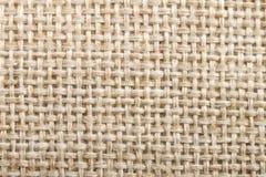 Linnetextur för naturligt tyg för designen, texturerad säckväv öppnade royaltyfria foton