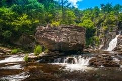 Linnvilledalingen Noord-Carolina van de Lente Royalty-vrije Stock Foto's
