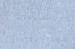 Fondo de lino azul Foto de archivo
