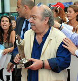 Lino Banfi Al Giffoni电影节2011年 免版税库存照片