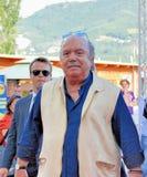 Lino Banfi Al Giffoni电影节2011年 库存照片