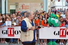 Lino Banfi al Giffoni Ekranowy festiwal 2011 Zdjęcie Stock