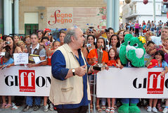 Lino Banfi al Giffoni Film Festival 2011 Photo stock