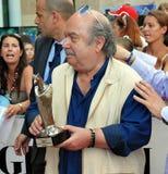 Lino Banfi al Giffoni Film Festival 2011 Lizenzfreies Stockfoto