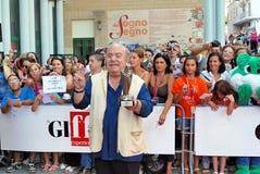 Lino Banfi al Giffoni Film Festival 2011 Royalty Free Stock Image