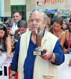 Lino Banfi al Giffoni Film Festival 2011. Giffoni Valle Piana, Salerno, Italia - 21 Luglio, 2011 : Lino Banfi al Giffoni Film Festival 2011 - il 21 Luglio, 2011 Stock Photography