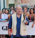 Lino Banfi al Giffoni Film Festival 2011. Giffoni Valle Piana, Salerno, Italia - 21 Luglio, 2011 : Lino Banfi al Giffoni Film Festival 2011 - il 21 Luglio, 2011 Royalty Free Stock Photo