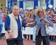 Lino Banfi al Giffoni Film Festival 2011. Giffoni Valle Piana, Salerno, Italia - 21 Luglio, 2011 : Lino Banfi al Giffoni Film Festival 2011 - il 21 Luglio, 2011 Stock Photos