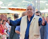 Lino Banfi al Giffoni Film Festival 2011. Giffoni Valle Piana, Salerno, Italia - 21 Luglio, 2011 : Lino Banfi al Giffoni Film Festival 2011 - il 21 Luglio, 2011 Royalty Free Stock Photography
