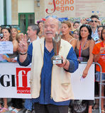 Lino Banfi al Giffoni Film Festival 2011 Stock Images