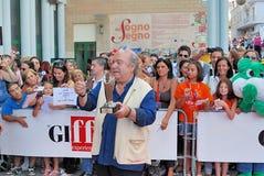 Lino Banfi al Giffoni Film Festival 2011 Royalty Free Stock Photos