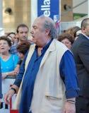 Lino Banfi al Giffoni Film Festival 2011. Giffoni Valle Piana, Salerno, Italia - 21 Luglio, 2011 : Lino Banfi al Giffoni Film Festival 2011 - il 21 Luglio, 2011 Royalty Free Stock Images