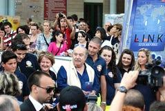Lino Banfi al Giffoni Film Festival 2011 Stock Image