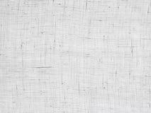 Lino del blanco de la textura de la materia del fondo Imágenes de archivo libres de regalías