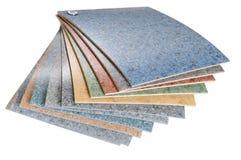 Linoleum. Isolato Fotografie Stock