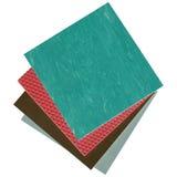 Linoleum samples Stock Photo