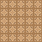 Linoleum seamless pattern. Brown color. Vector. Illustration Royalty Free Stock Image