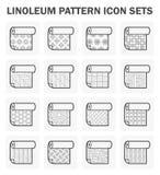 Linoleum vector icon Royalty Free Stock Photo