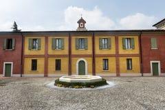 Linon (Brescia, Italië) Stock Afbeeldingen