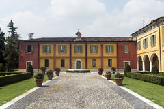 Linon (Brescia, Italien) Lizenzfreie Stockfotos