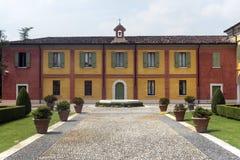 Linon (Brescia, Italien) Lizenzfreies Stockbild