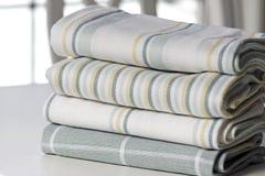 Linos de cocina - toallas de té Imágenes de archivo libres de regalías