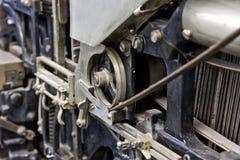 Linotype à fonte Photos libres de droits