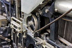 Linotype hot metal Royalty Free Stock Photos