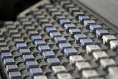 Linotype Keyboard Stock Photography