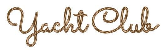 Linowa ręka rysujący literowanie royalty ilustracja