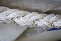 Linowe tekstury na schronieniu Zdjęcia Royalty Free
