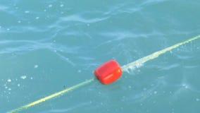 Linowy boja w morzu zbiory