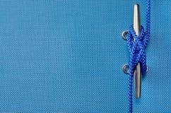 Linowy nautyczny tło zdjęcie stock