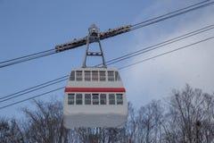 Linowy sposób Shinhotaka przy Japonia Alps obrazy stock