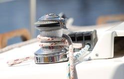 linowy winch Zdjęcie Royalty Free