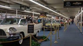 LINQ Casino and Resort antique auto display, Las Vegas, Nevada Royalty Free Stock Photo