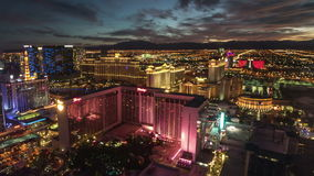 The Linq High Roller Las Vegas Time Lapse stock video