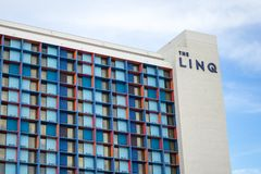 LINQ hotel Las Vegas obrazy royalty free