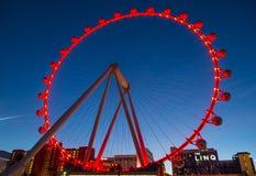 Linq Las Vegas Stock Afbeelding