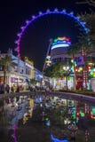 Linq Las Vegas Royalty-vrije Stock Afbeeldingen