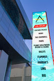 The LINQ Sign in Las Vegas. Royalty Free Stock Photography
