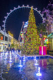 The Linq Winter parq Stock Photography