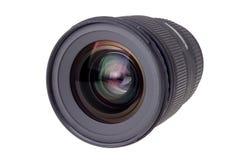 Linse der modernen Digitalkamera, Ansicht der vorderen Linse Stockfotografie
